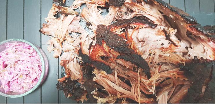 Coleslaw Rezept mit Pulled Pork