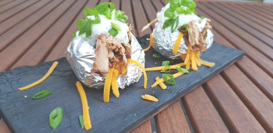 Rezept Pulled Pork Ofenkartoffel